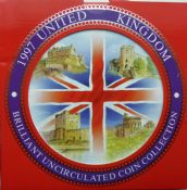 1997 Brilliant Uncirculated Coin Collection